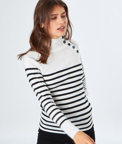 Sailor sweater off-white.