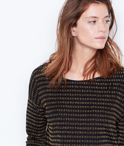 Knit jumper black.