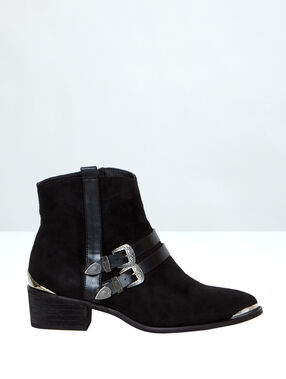 Ankle boots black.