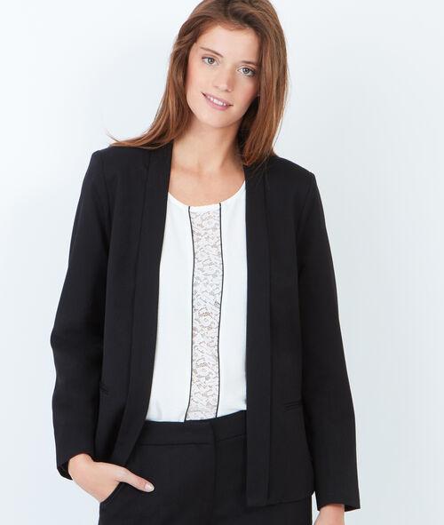 Tailored collar blazer