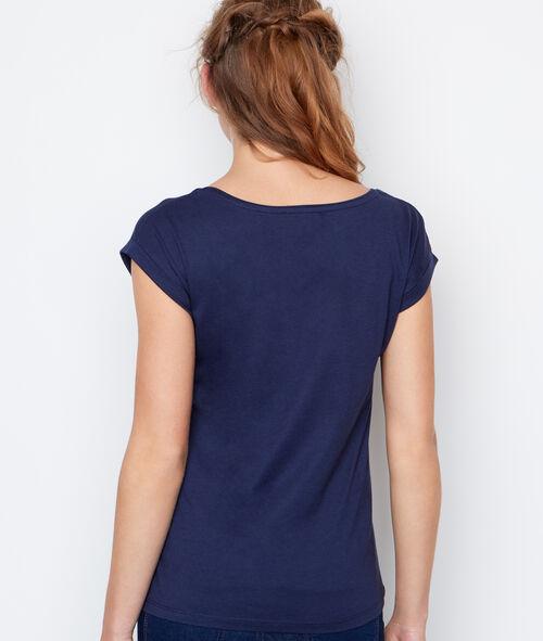 T-shirt détail sérigraphique