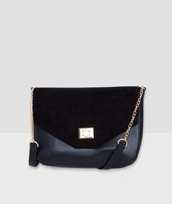 Cross body bag black.