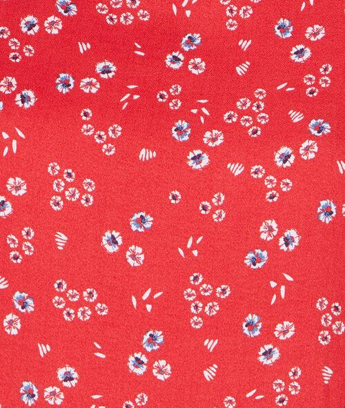 Robe imprimée fleurs