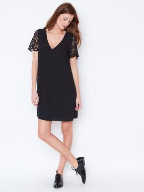 Kleid schwarzs.