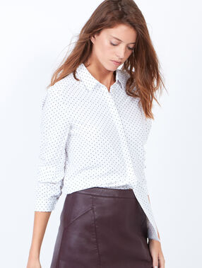 Dotty shirt white.