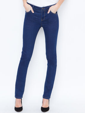 Slim jeans raw denim.