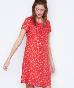 Liberty dress red.