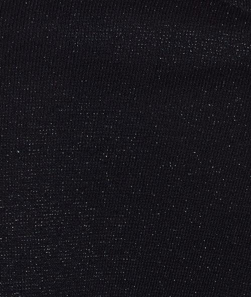 Knit bolero in lurex