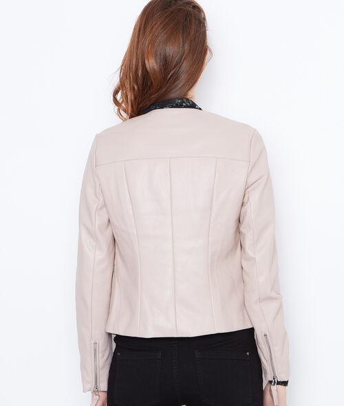 Round collar jacket