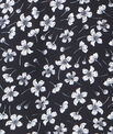 Robe évasée à imprimés fleuris