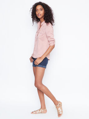 Long sleeves shirt pink.
