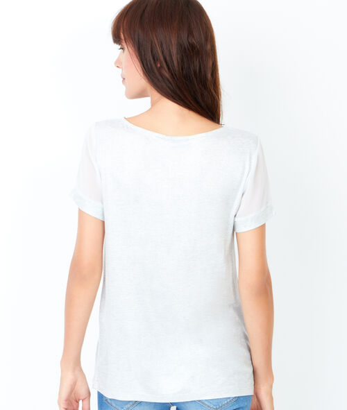 T-shirt manches courtes effet irisé