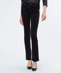 Cotton pants black.