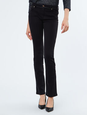 Cotton pants black.