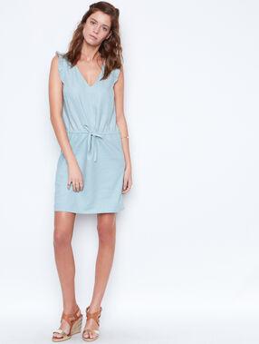 Linen dress sauge.