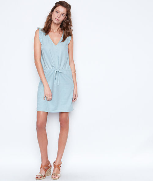 Linen kleid