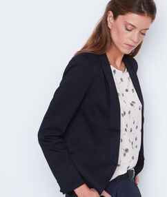 Suit jacket navy.