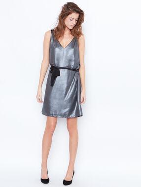 Kleid grau.
