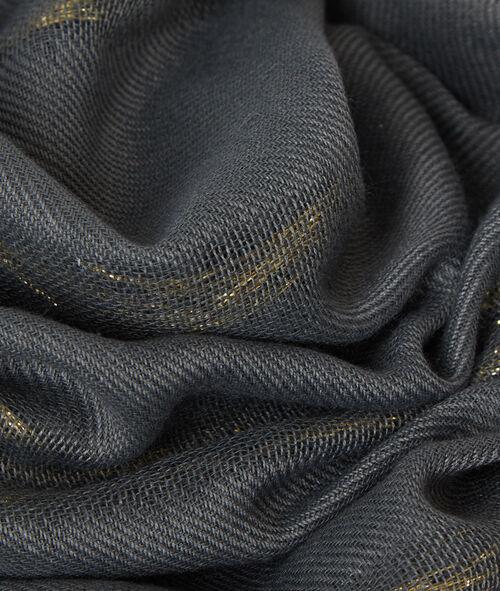 Foulard détails métallisés