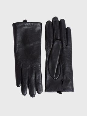Handschuhe schwarz.