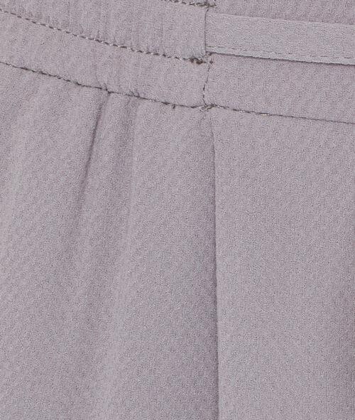 Pantalon carotte fluide