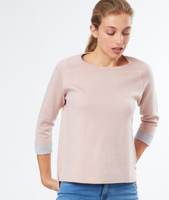 Pullover nude.