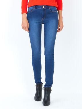 Slim jeans blau.