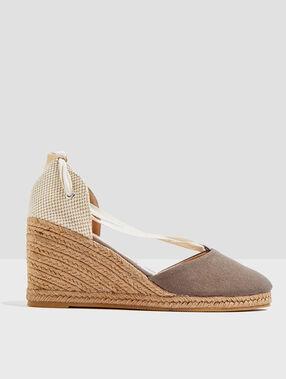 Roma slippers khaki.