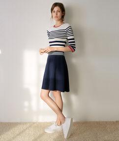 Long sleeve dress navy.