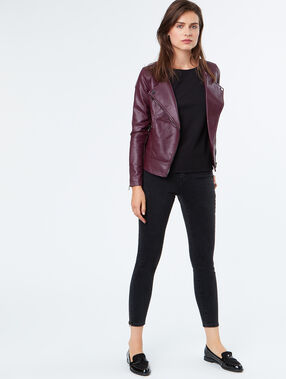 Perfecto jacket plum.