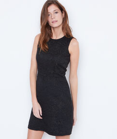 Jacquard dress black.