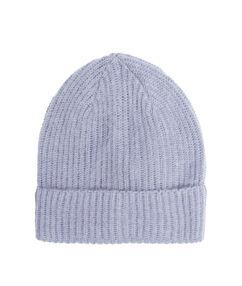 Mütze blau.