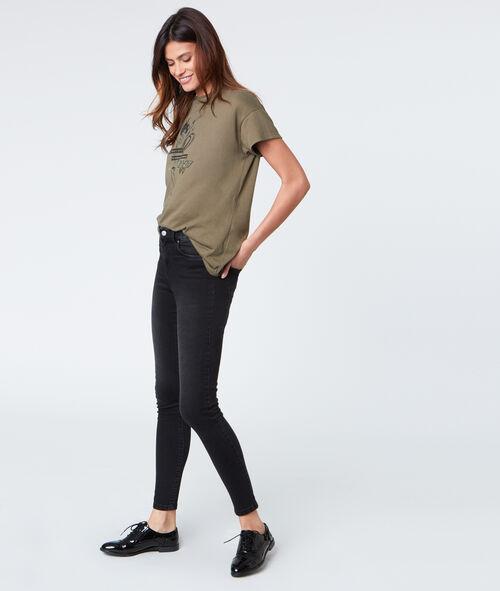 T-shirt col rond avec imprimé