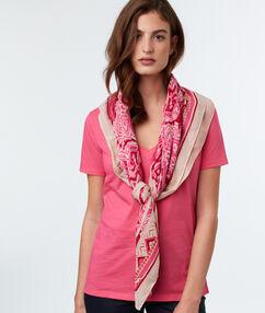 Schal rosa.