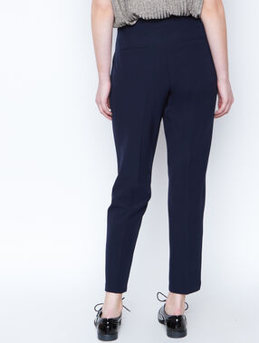 Pantalon officier bleu marine.