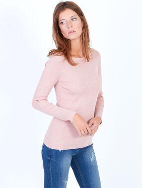 Pullover rosa.
