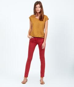 Linen t-shirt mustard.