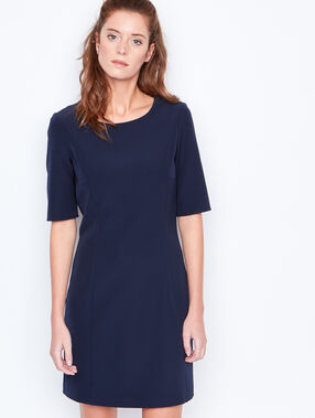 3/4 sleeve dress navy.