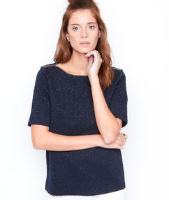 Short sleeve top navy.