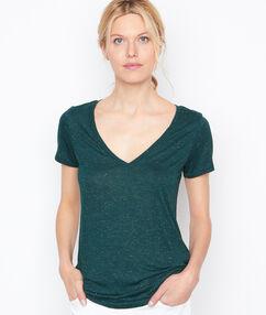 T-shirt grun.