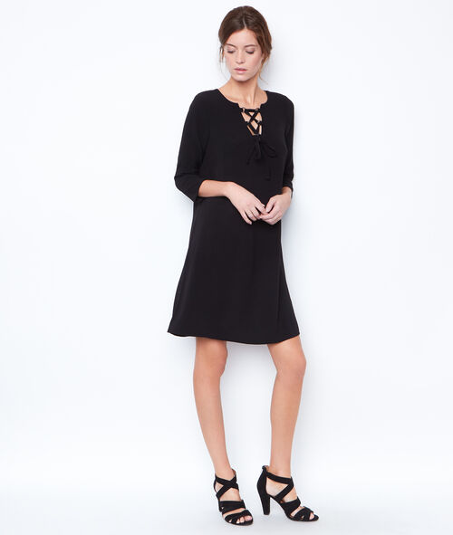 3/4 sleeves dress