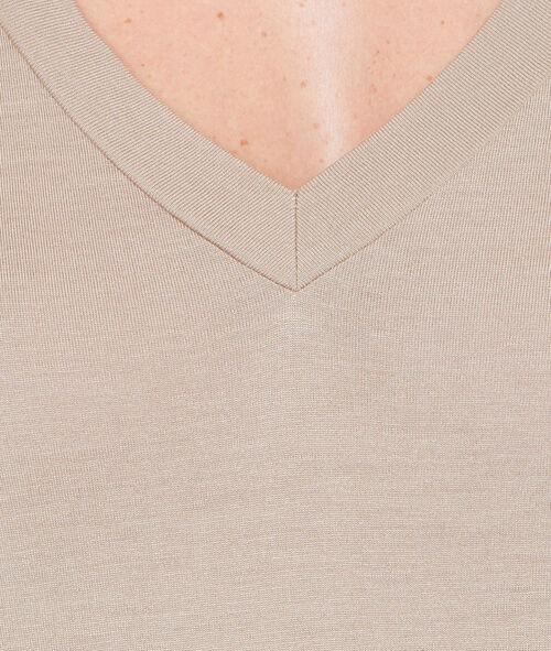 T-shirt manches courtes à col V