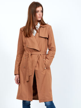 Trench fluide long camel.