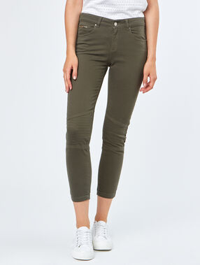 Cotton biker pants khaki.