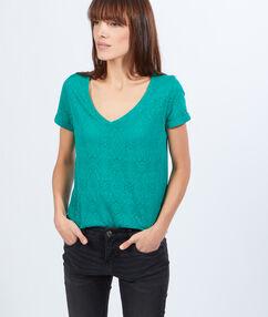 T-shirt grün.