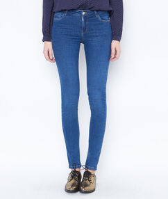 Skinny jeans blue denim.
