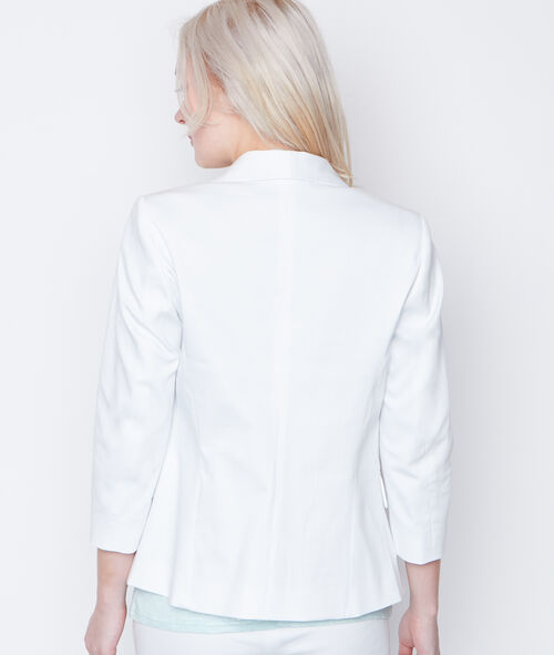 3/4 sleeves blazer
