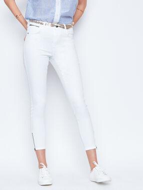 Jeans weiß.