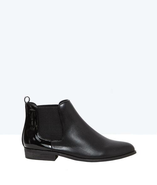 Bi-material boots