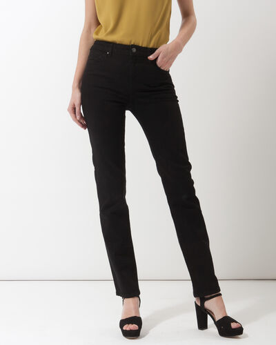 Victor black straight-cut jeans (2) - 1-2-3